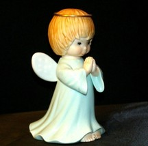 Ceramic Angel With Halo AA-191730 Vintage Collectible image 2