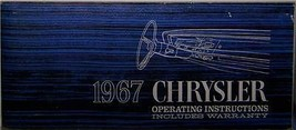 1967 Chrysler owners manual parts service original - $34.99