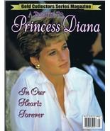 ORIGINAL Vintage 1997 Princess Diana Gold Series Commemorative Magazine - $18.51