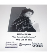 Linda Dano Autograph Reprint Photo 9x6 One Life to Live 2002 Another Wor... - $9.99