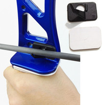 Black Plastic Adhesive Archery Shoot Around Arrow Rest For Right-Handed ... - $7.90
