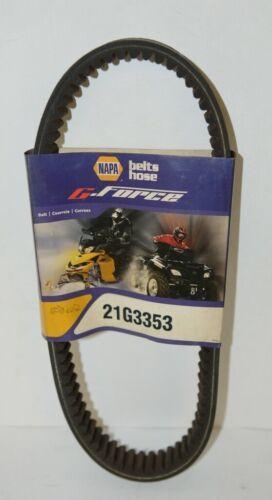 Napa 21G3353 G Force CVT Drive Belt 34 Three Eighths Inch