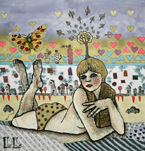 Illustration. Print. Poster. Gift. Art. Home. R... - $60.00