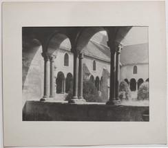 Original VIntage 1930s arches, columns, art photo by Josef DAIMER - $37.01