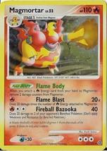 2007 Pokemon Magmortar Foil 31/132 HP110 - $0.99