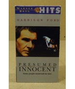 Warner Bros. Presumed Innocent VHS Movie  * Plastic Paper - $4.34