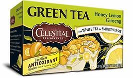 Celestial Seasoning Teas (Honey Lemon Ginsing Green Tea) - £5.30 GBP