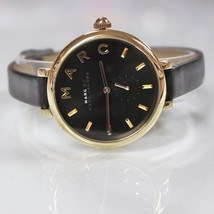 New Marc Jacobs MJ1416 Sally Black Golden Dial and Black Band Women Watch - $135.14