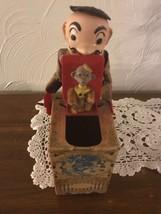 Mattel Bob Routledge Creation Monkey In The Box Rare 1952 - $75.00