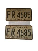 1978 Illinois License Plates