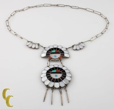 Paperclip Navajo Shell Chief Necklace - €158,76 EUR