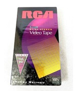 { RCA } - HI-FI STEREO - T120 - UP TO 6HRS OF PREMIUM DAILY USE - BLANK VHS - $6.43