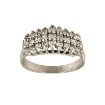 Breathtaking 14k White Gold 1.5 ct Diamond Ring - $2,200.00