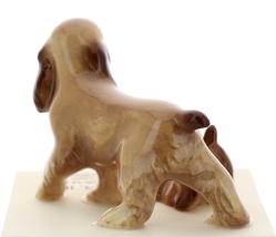 Hagen-Renaker Miniature Ceramic Dog Figurine Don Winton Cocker Papa and Pup image 3
