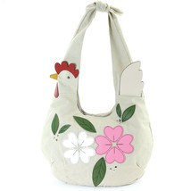 An item in the Fashion category: Floral Chicken Hobo in Canvas Material