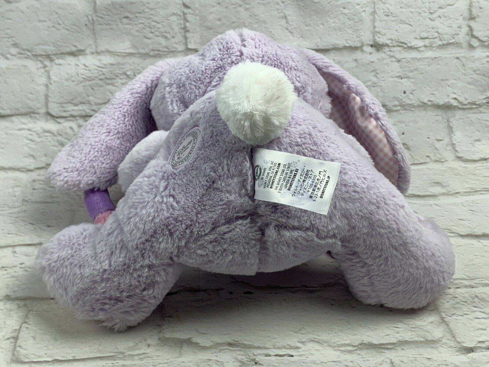Disney Store Angel Bunny Plush 11'' LILO and Stitch Gift Easter Bunny Basket image 6