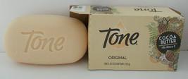 4 Pack Original Tone Spa-Inspired Bath Bar Soap Cocoa Butter & Vit E 4.25oz - $4.94