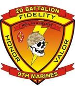 USMC 2nd Battalion 9th Marines Sticker - $9.89