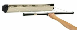 Household Essentials 15-7 5-Line Silver Retractable Clothesline 8 L in. ... - $66.32