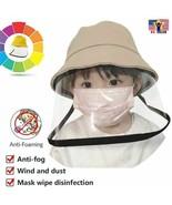 Protective Anti Spit Dust Fishing Bucket Saliva Kid Children UV Shield H... - $9.27+