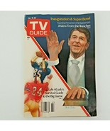 TV Guide  Jan. 19-25 Inauguration & Super Bowl Issue- Lyle Alzado Surviv... - $12.50