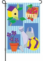 Gardener's Applique Garden Flag - 12 x 18 inches - $9.74