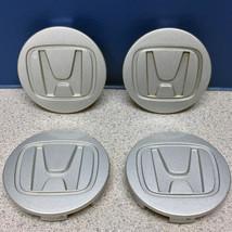 "Honda 2 11/16"" Ridgeline Element Accord Civic Wheel Center Caps 44732SJCA500 SET - $17.99"