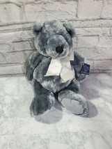 Ganz Heritage Collection Plush Bear 19 Inch Vintage Gray Stuffed Animal ... - $27.61