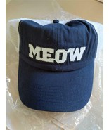 Cat Lady MEOW Open Mesh Ball Trucker Cap Adjustable Sizing Brand New - $14.85