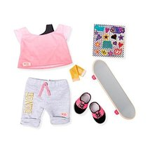 Our Generation Skateboarding and Dance Clothing Outfit Set for 18 Dolls - $24.74