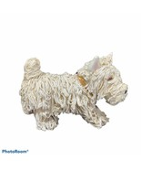 West Highland Terrier Dog Figurine Westie Studio Art Pottery Artist Sign... - $59.99