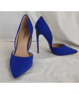 New - JUST FAB D'Orsay Stiletto Monika Blue US Size 7 - $28.40