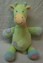"""Koala Baby Cute Soft Colorful Giraffe Rattle 10"""" Plush Stuffed Animal Toy - $14.85"""