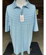 NWT men's Peter Millar Seaside Wash Cotton Blend Polo Shirt XL $89 SPLAS... - $34.99