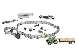Big Country Toys Ultimate Ranch Set - 1:20 Scale - 53 Piece Ranch Play Set - Col - $282.20