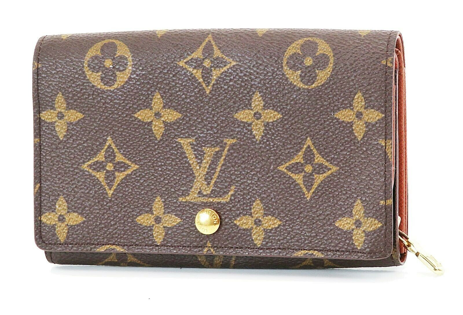 Primary image for Authentic LOUIS VUITTON Monogram Long Wallet Zippered Coin Purse #37311B