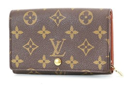 Authentic LOUIS VUITTON Monogram Long Wallet Zippered Coin Purse #37311B - $169.00