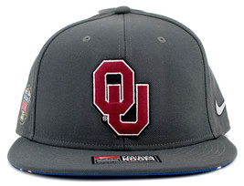 Nike Official Team Oklahoma Sooners 2017 Sugar Bowl Champions Mens Snapback Hat - £20.61 GBP