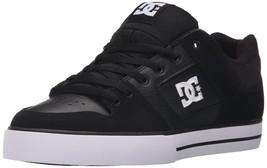 DC Men's Pure Shoe, black/black/white, 9 D D US - $57.86