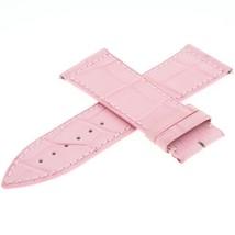 Franck Muller 22A 24 - 22 mm Genuine Allugator Leather Pink Watch Band - $249.00