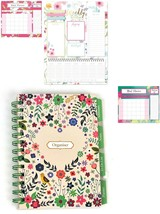 Spiral Slim Weekly Planner Sticky notes Memo Pad To Do List Shopping Org... - $2.92+