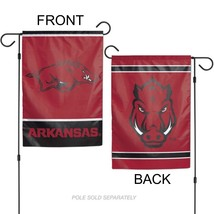 "University of Arkansas Razorbacks 12"" x 18"" Premium Decorative Garden Flag - $14.95"