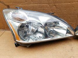 04-09 Lexus RX330 RX350 Halogen Headlight Lamps Set L&R POLISHED image 3