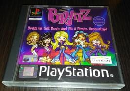 Bratz Be a Superstar PSP 2 PAL 2003 Made in Austria Ubi soft Play Portuguese  - $9.00