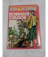 Peter Pan Robinson Crusoe Book & Record Lot Sealed 45 RPM - $8.96