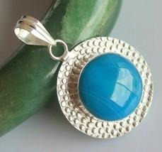 Botswana Agate Silver Overlay Handmade Pendant Jewelry-oj-418-17_88 - $3.38