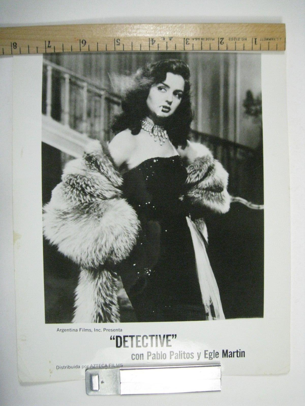 Detective Argentina Films Movie Press Photo Pablo Palitos Egle Martin  8 x 10