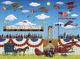 Buffalo Games - Charles Wysocki - Mansfield Air Spectacular - 1000 Piece Jigsaw  - $13.63
