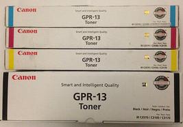 Genuine Canon GPR-13 CMYK Toner Set - For ImageRunner C2570 C3100 C3170 - $64.35