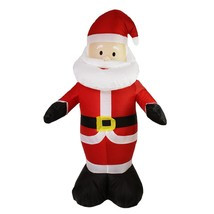 4' Inflatable Lighted Santa Claus Christmas Outdoor Decoration - $43.30